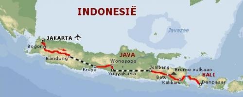 Indonesie route