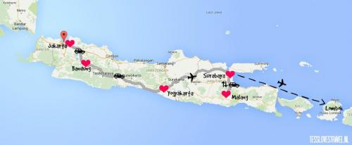 map-java-route-klaar